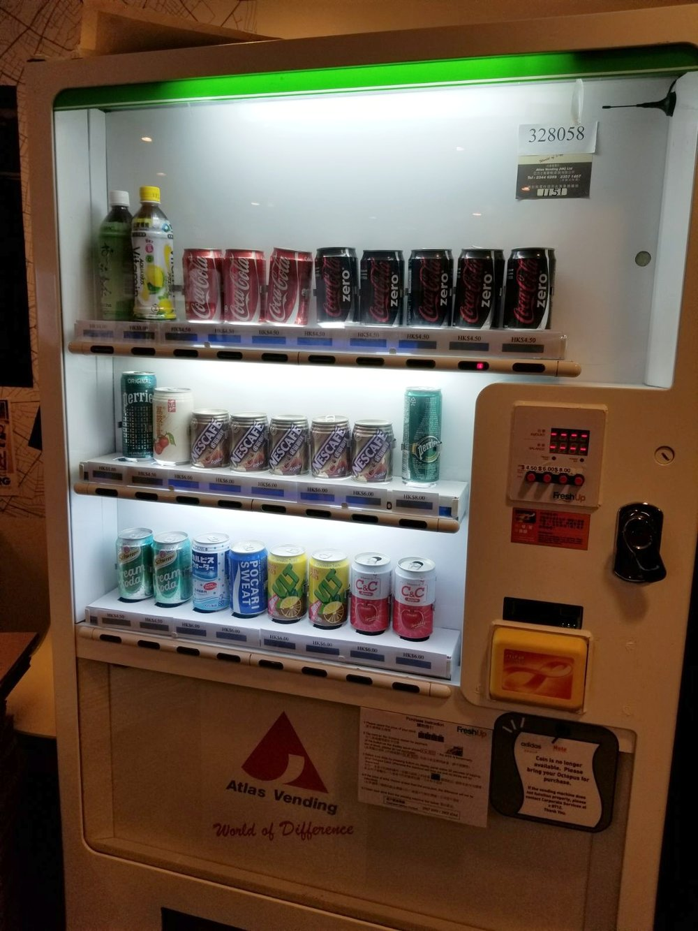 Freshup, vending machine hk, interactive, food, beverage, smart retail, convenient, vending services, professional, corporations, Adidas