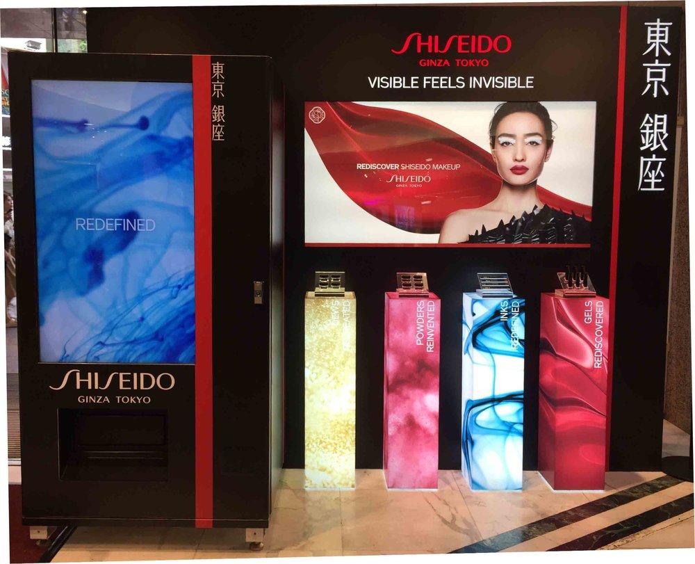 資生堂 SHISEIDO - FreshUp designed an interactive solution for Shiseido's new product launch. Passers-by could select their favorite make-up style on the screen. They could then get a free product after watching a short video of the chosen style.