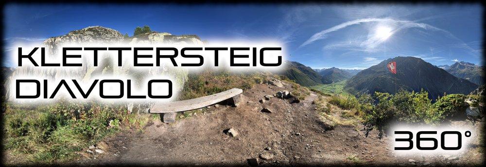Klettersteig Diavolo Andermatt - August 2018