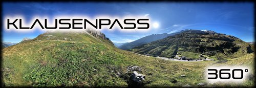 Klausenpass 360 Panorama