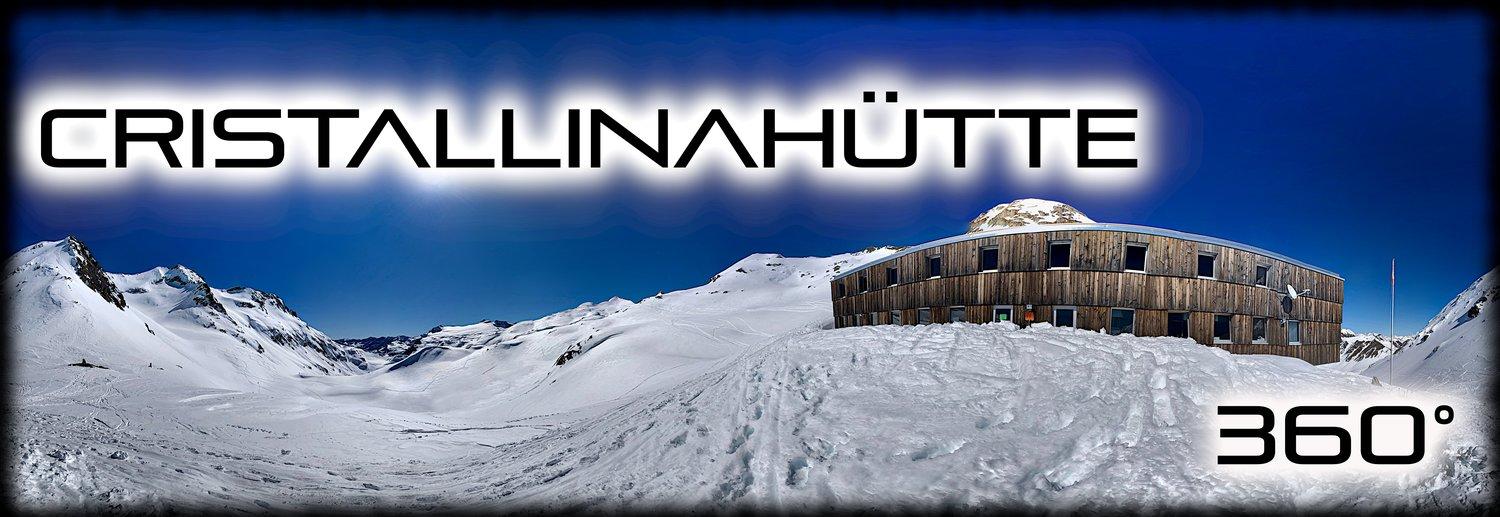 cristallinahütte skitour