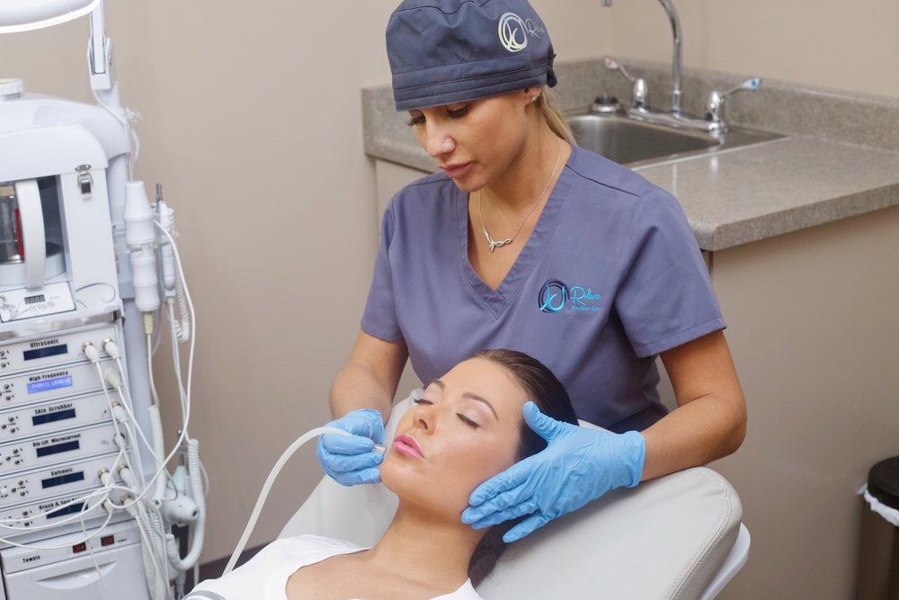 suction facial deep cleanse