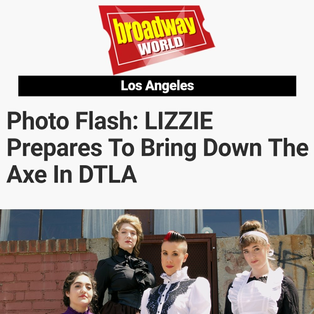 BWW Photo Flash gives a peek into LIZZIE in DTLA's Arts District