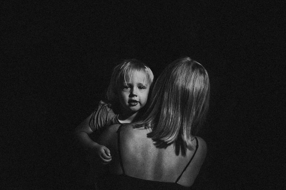 low-light-black-and-white-image-of-mom-and-daughter