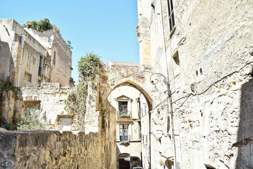 Cagliari Sardinien Altstadt