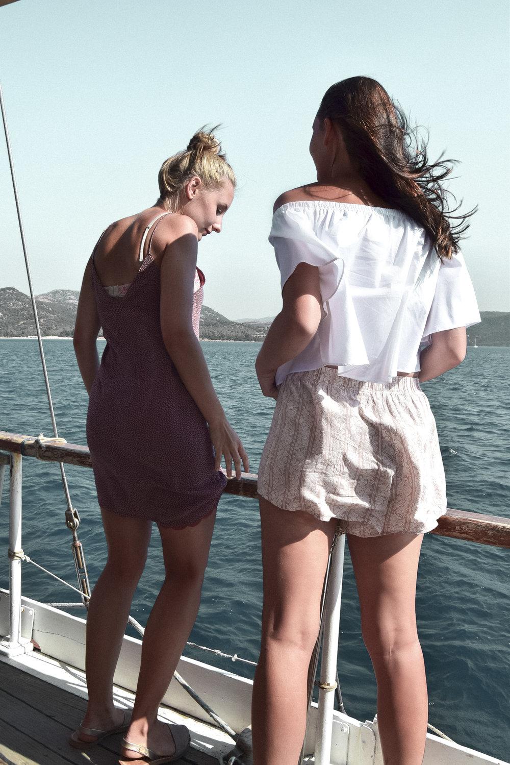 Segelschiff-fahrt mit dem Milmar Charter - Mit dem mittelgroßen Segelschiff