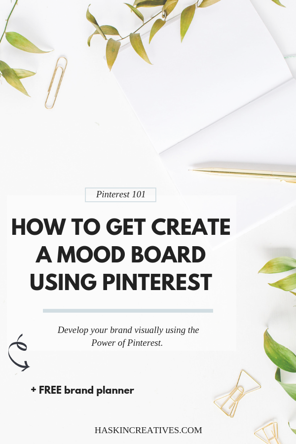 How to create a mood board using Pinterest
