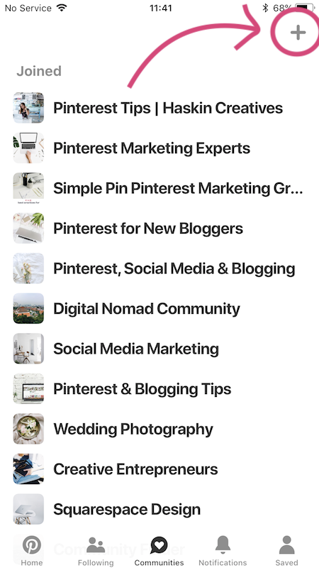 How to Create a Pinterest Community