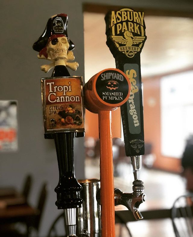 Great Craft Beers on Tap @BT! •Tropi Canon Citrus IPA •Shipyard Smashed Pumpkin •Asbury Park Sea Dragon •Neshaminy Creek The Shape Of Hops To Come •Kane Double Overhead IPA