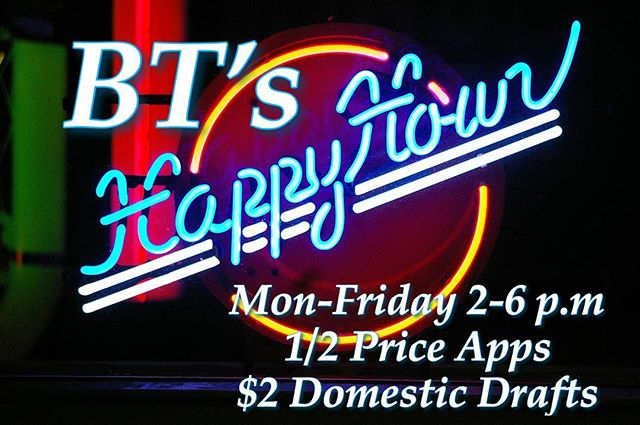 Come in and check out our new Happy Hour specials!!!!