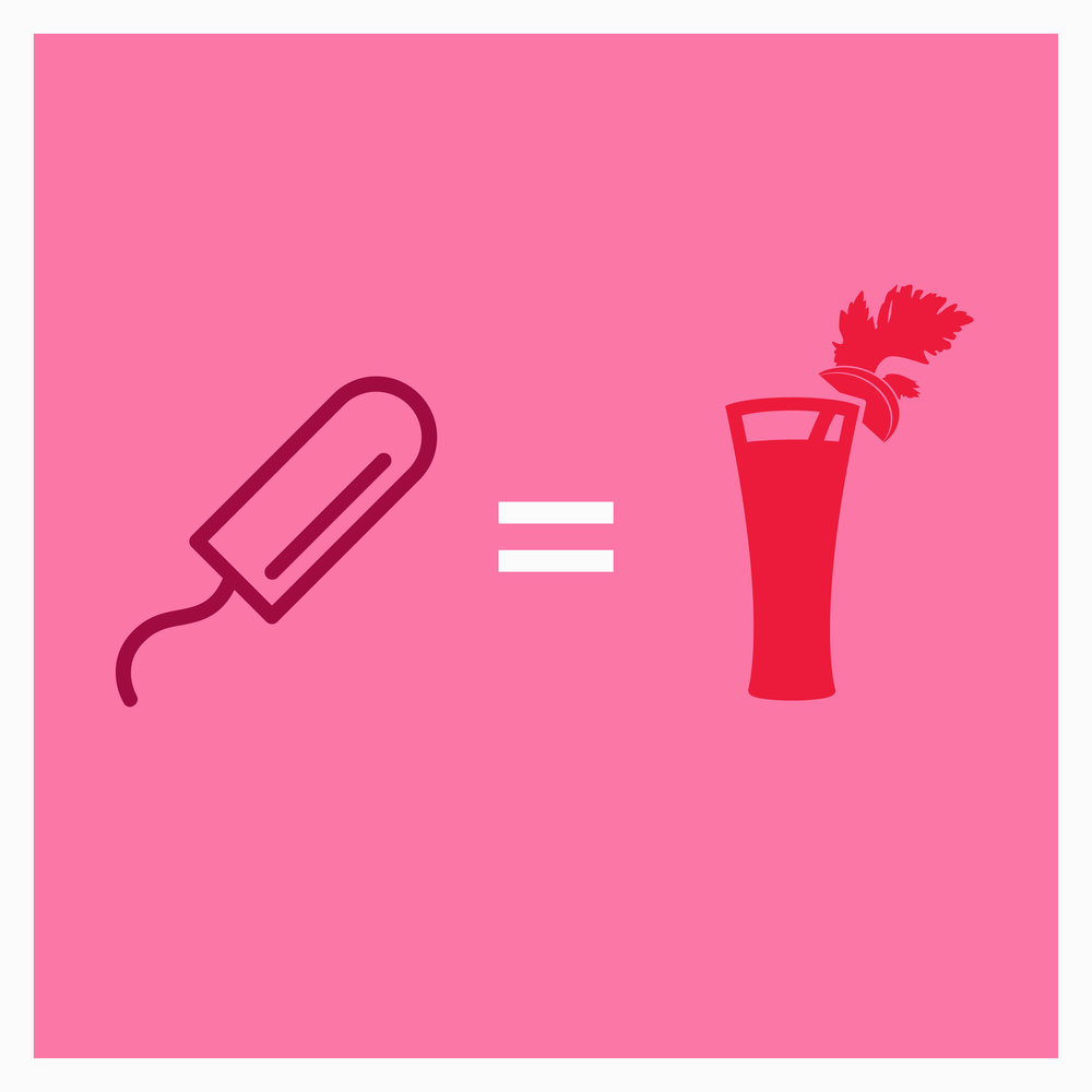 What is Bloody Big Brunch? - Bloody Big Brunch is a bloody novel way to address period poverty; we travel the UK hosting brunches, giving away Bloody Marys for free. There's just one string attached. You need to pay with period products.We'll then donate all proceeds to a range of organisations across the country including The Red Box Project, Bloody Good Period, Girlguiding Scotland, YWCA and Freedom4Girls.