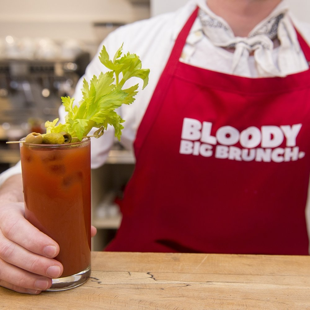How to Host a Bloody Big Brunch - Sign up here  and we'll send you a link to download everything you need to take part.Please allow at least six weeks for the link to your kit as we're currently confirming some partnerships that will make your brunch planning extra tasty.