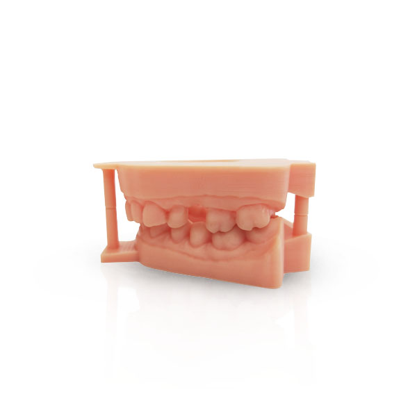 OMR-07 Dental Model Resin   Volume: 1KG(±0.5%)/pcs  Color:Salmon Pink  Viscosity:230(30℃/cps)