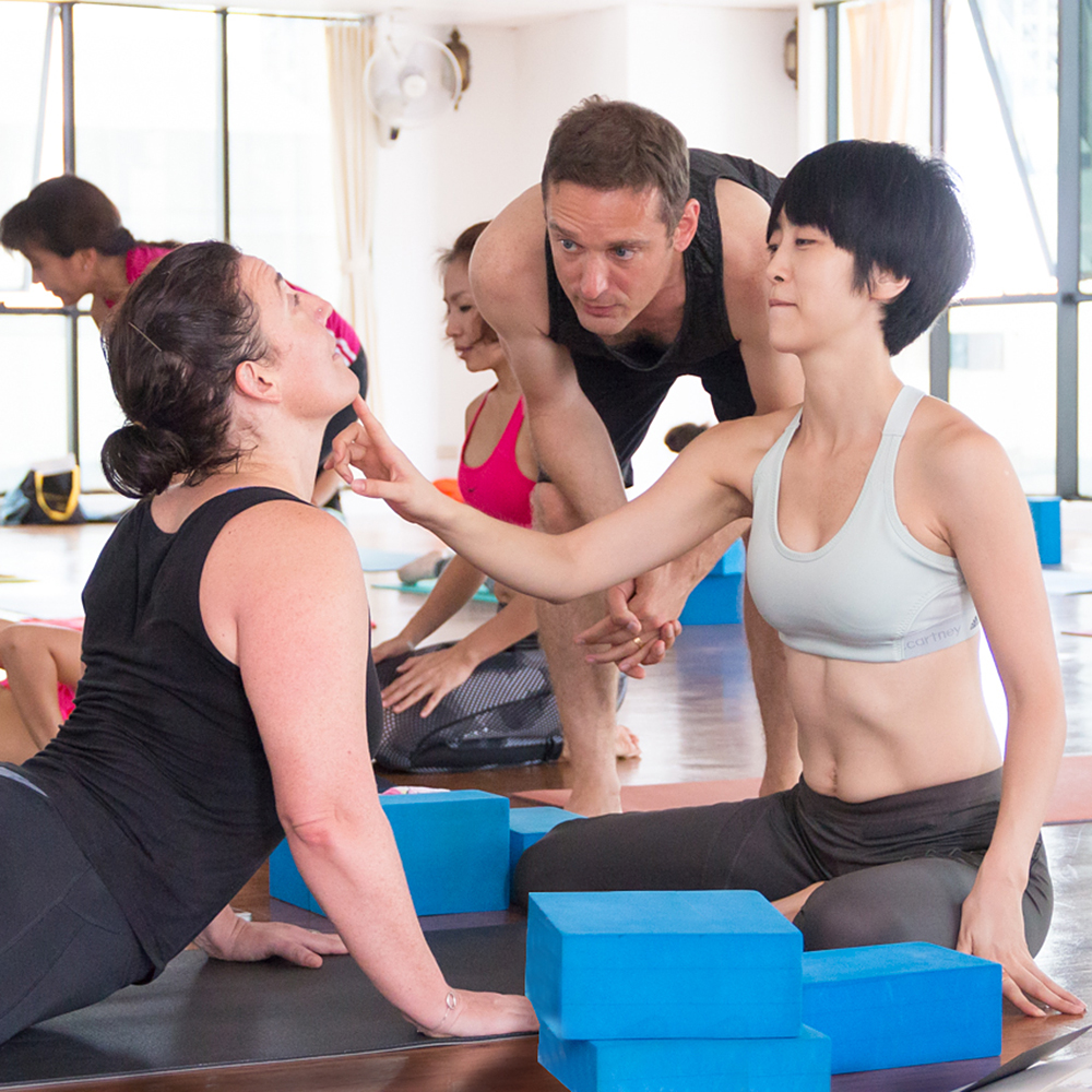 Alignment based vinyasa - 20 years experience teaching, founder of Yoga Elements Studio