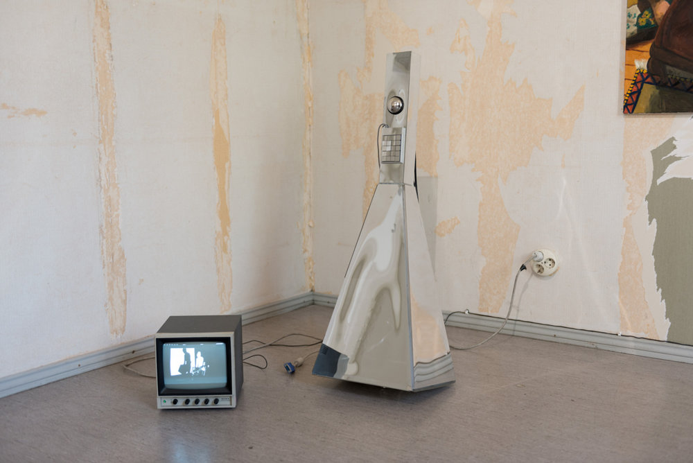 Untitled (needles in air), 2008