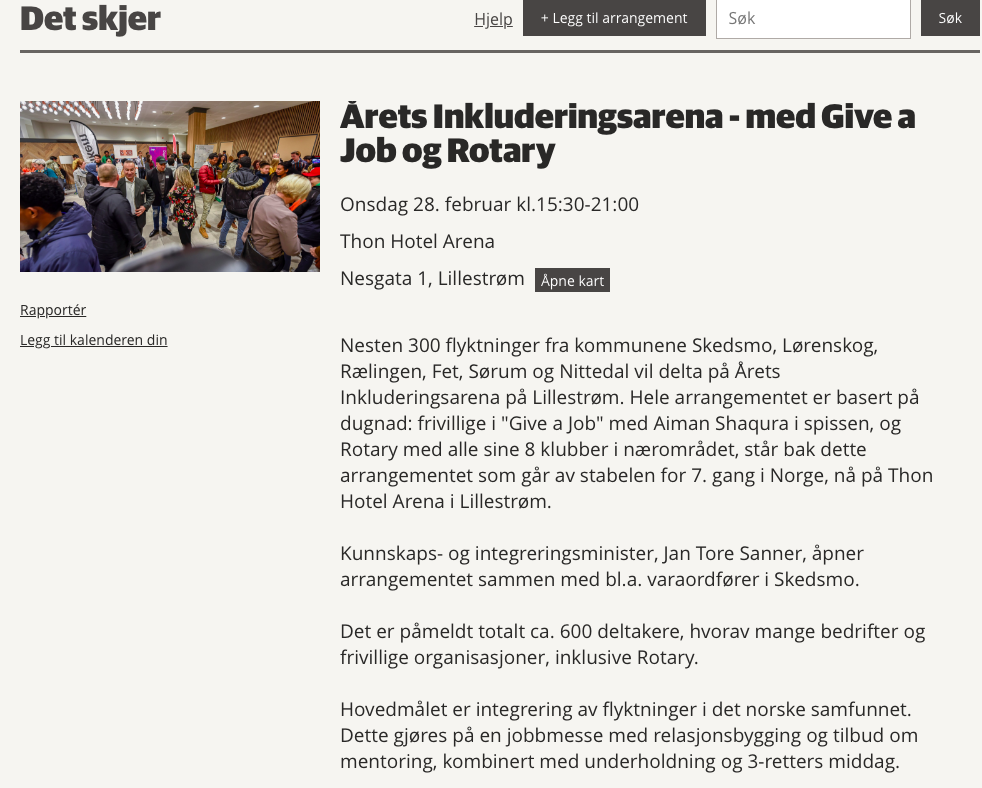 Give a Job Drammen