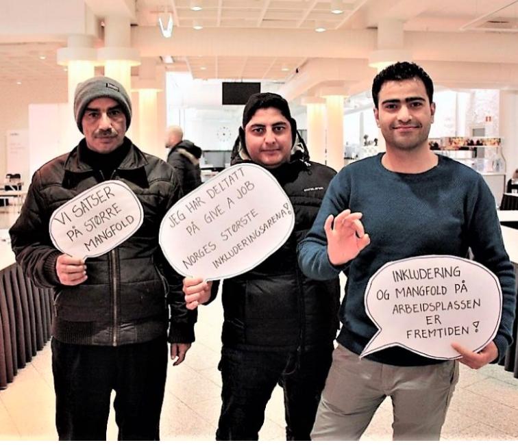 """Tidligere flyktning arrangerer """"speed-dates"""" for å få flyktninger i arbeid - Vårt Oslo"""