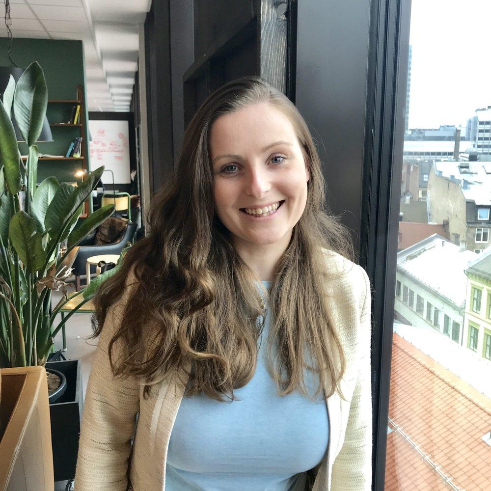 Marthine Spinnangr - Designer og Prosjektkoordinator