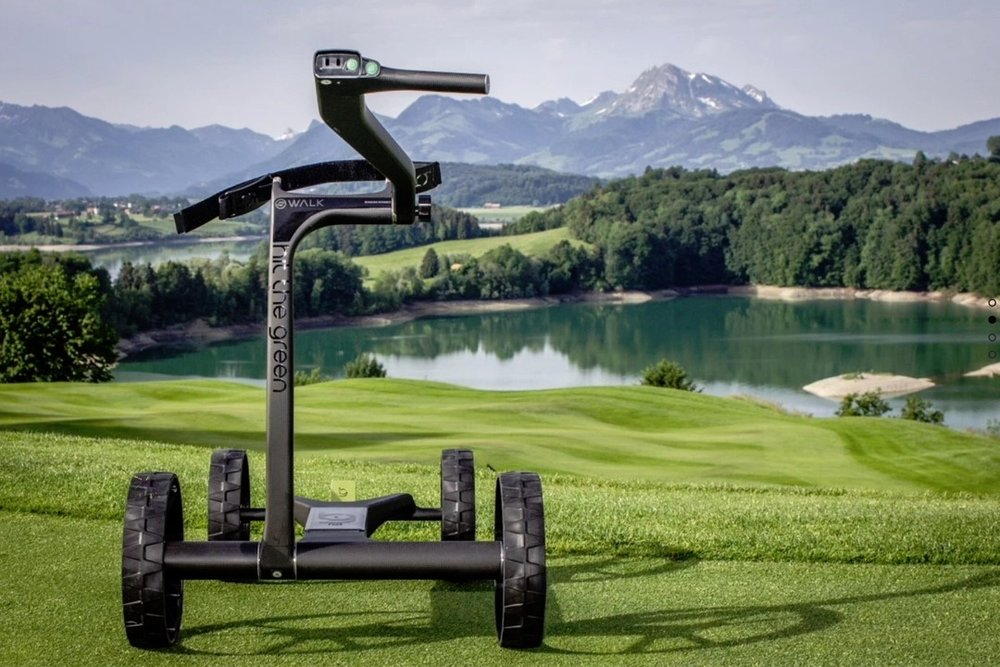 SMART GOLF E-TROLLEY -