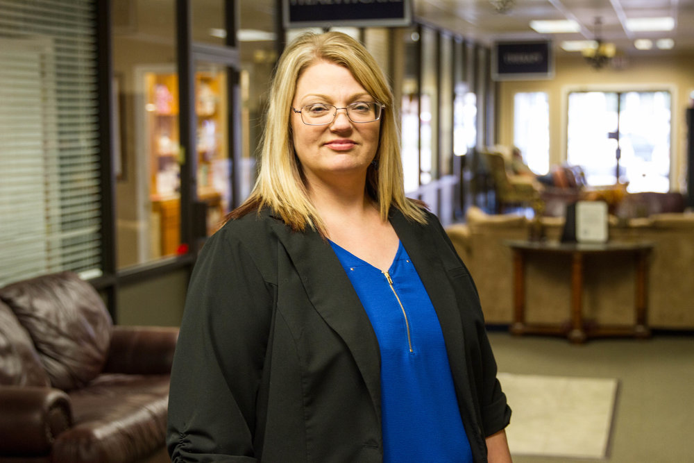 Christy Blurton - office manager