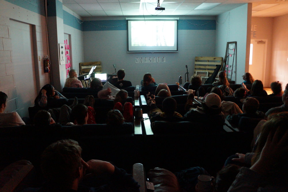 For one of our worship nights, we watched Planet Earth to appreciate God's creation as a community.
