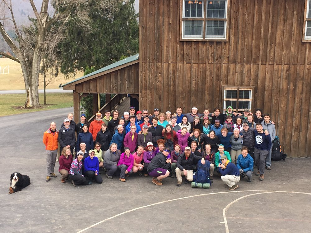Lancaster and Three Springs OneLife before heading out onto the trail