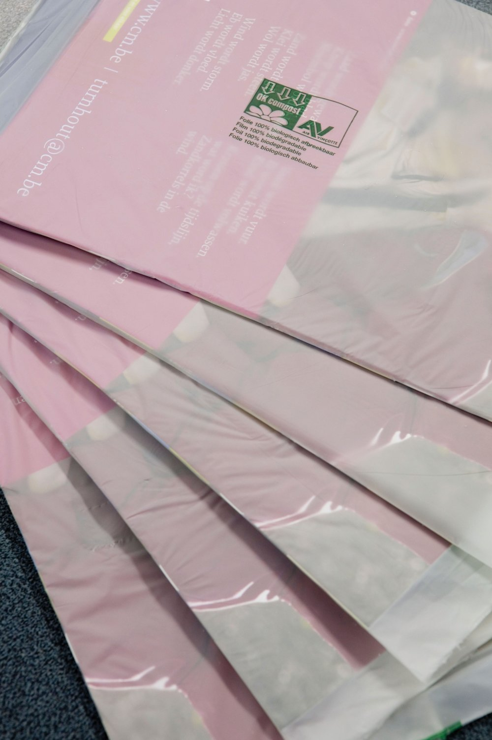 Biodegradeerbare mailingfolie