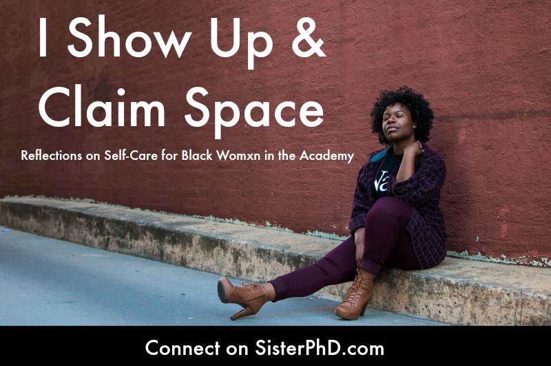 Black woman sitting on curb