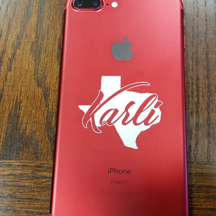 personalized iphone full color print