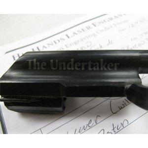 firearm engraving - custom firearm personalization