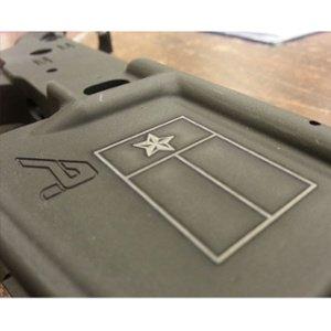 firearm engraving - custom rifle decoration