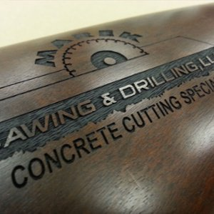 firearm engraving - personalized rifle stock