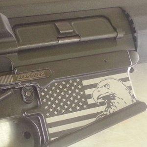 firearm engraving - custom engraved personalized gun