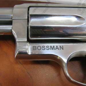 firearm engraving - custom engraved revolver