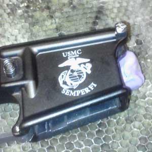 firearm engraving - custom engraved firearm parts