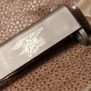 firearm engraving - engraved slide