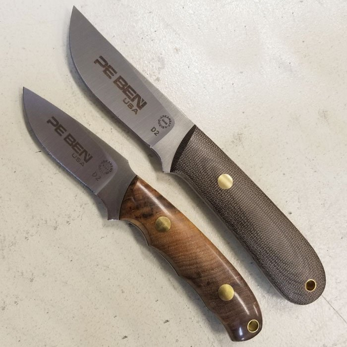 fixed blade knife engraving