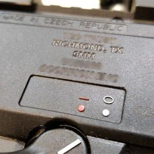 firearm engraving - custom engrave