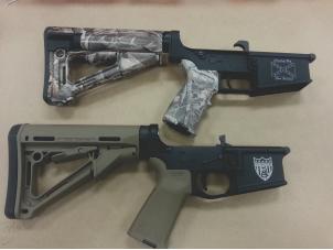 firearm engraving - custom rifle personalization