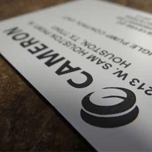 Industrial Printing - Custom Plastic Tags - Engrave It Houston