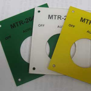 Industrial Laser Marking - Custom Plastic Labels - Engrave It Houston