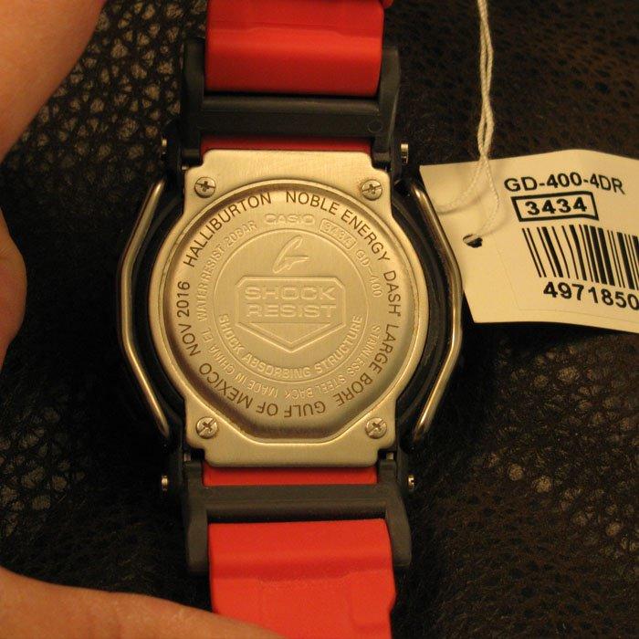 industrial engraving - custom engraved watch