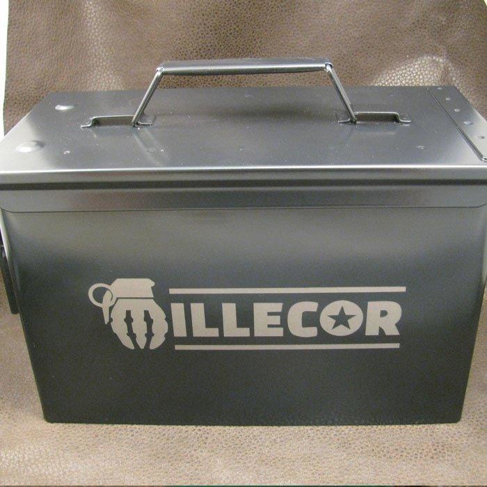 industrial engraving - custom engraved ammo box