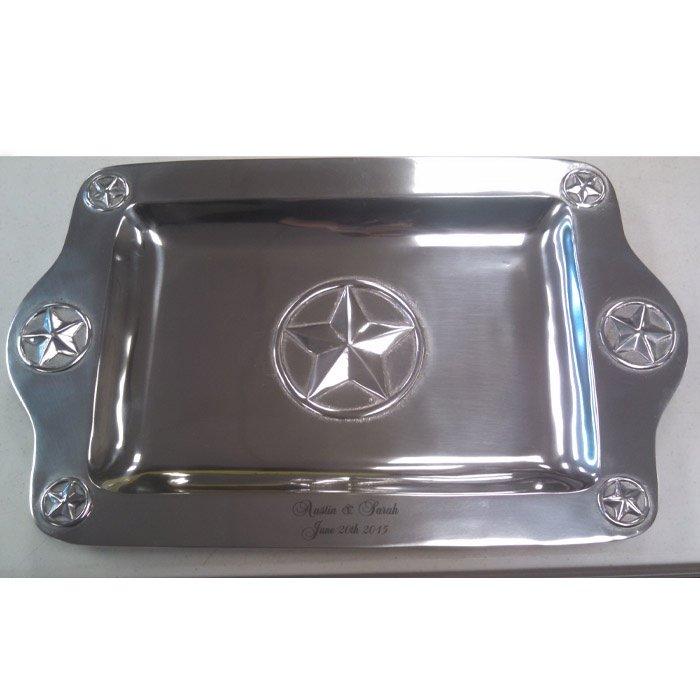 custom engraved serving platter