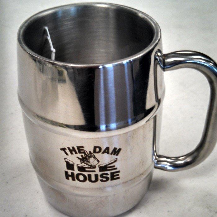 Custom personalized steel mug