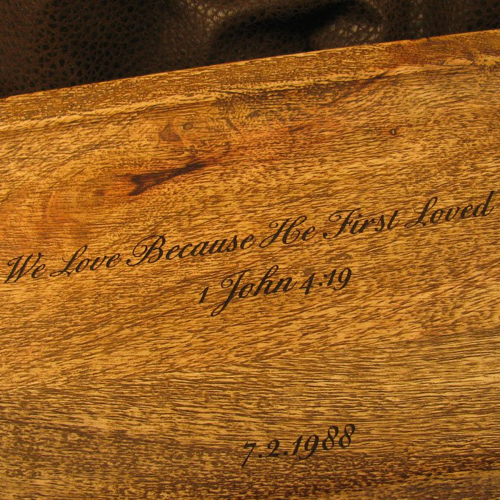 custom engraved personalized wood