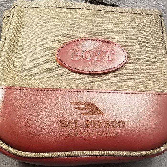 custom engraved leather - engraved bag