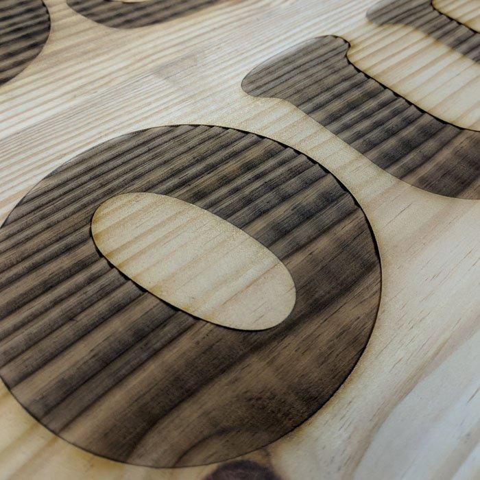 custom wood engraving