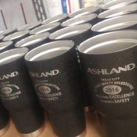 Cups in Quantity with Logo