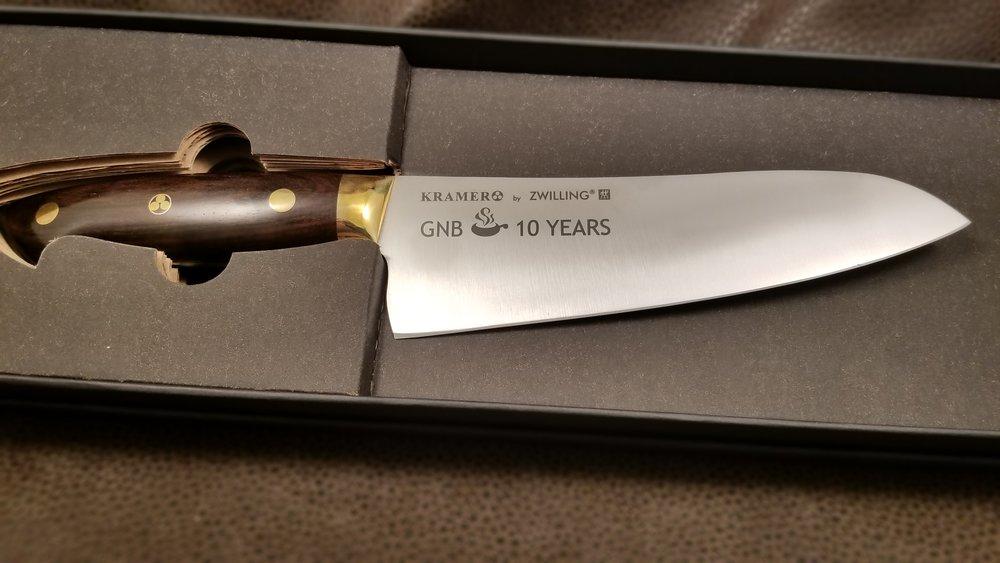 Custom Engraved Chefs Knife - Personalized Chefs Knife - Engraved Kitchen Knife - Personalized Kitchen Knife - Knife Engraving - Custom Projects - Engrave It Houston